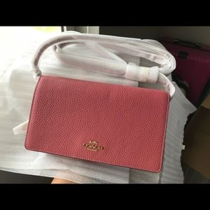 Coach Foldover Crossbody Clutch